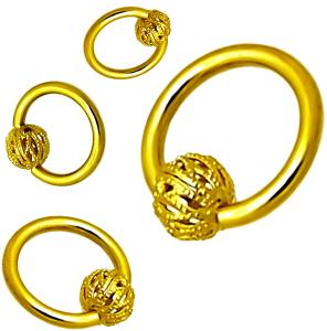 piercing gold